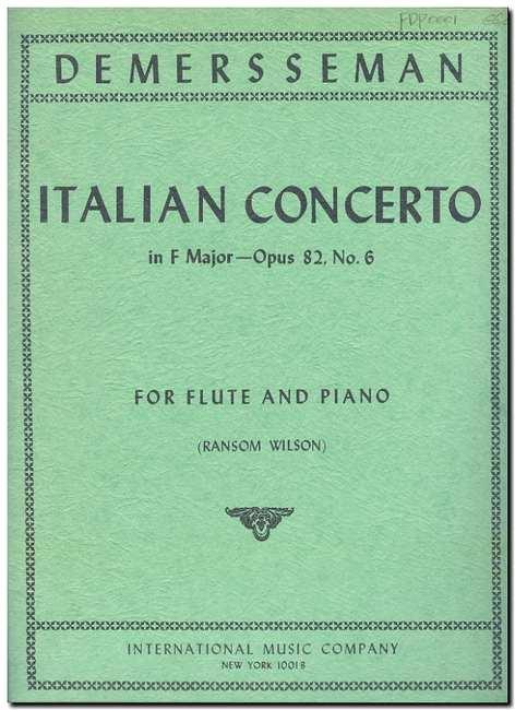 ITALIAN CONCERTO Op.82/6