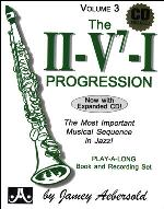 THE II V7 I PROGRESSION Volume 3 + CD