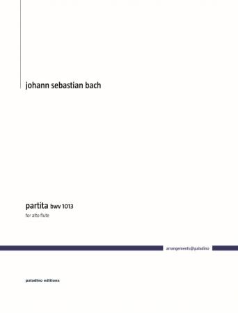 PARTITA BWV1013