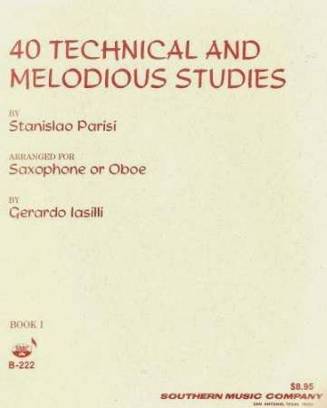 40 TECHNICAL & MELODIOUS STUDIES Book 2