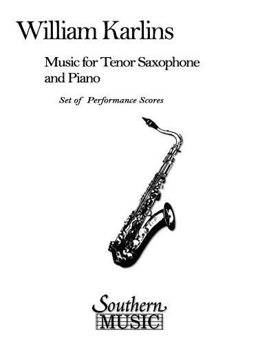 MUSIC FOR TENOR SAXOPHONE AND PIANO
