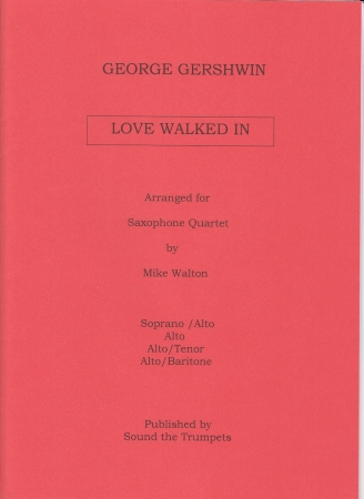LOVE WALKED IN score & parts