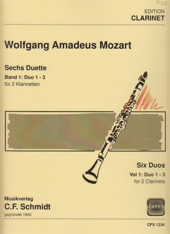 SIX DUETS Op.70 Volume 1