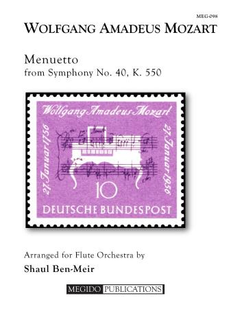 MENUETTO from Symphony No.40