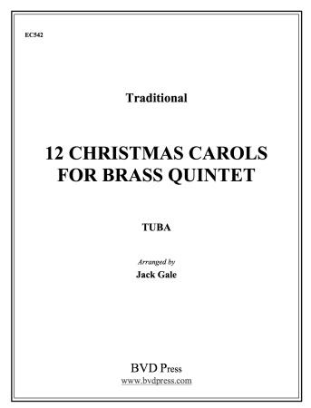 TWELVE CHRISTMAS CAROLS Tuba