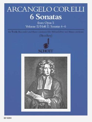 6 SONATAS Op.5 Volume 2