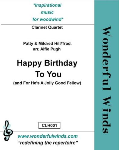 HAPPY BIRTHDAY TO YOU & FOR HE'S A JOLLY GOOD FELLOW (score & parts)