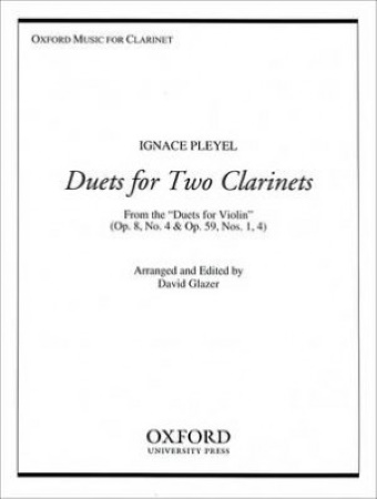 DUETS FOR TWO CLARINETS