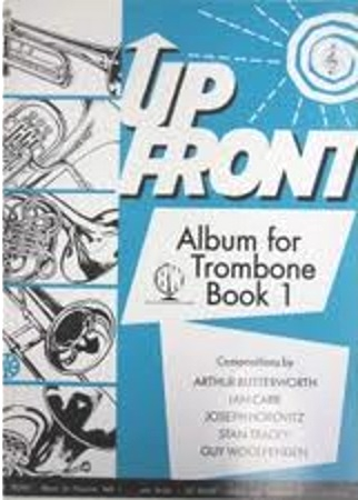 UP FRONT ALBUM TROMBONE Book 1 treble clef