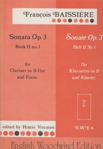 SONATA in F major Op.3 No.1