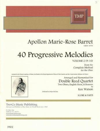 40 PROGRESSIVE MELODIES Volume 2