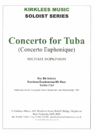 CONCERTO for Tuba (treble clef)