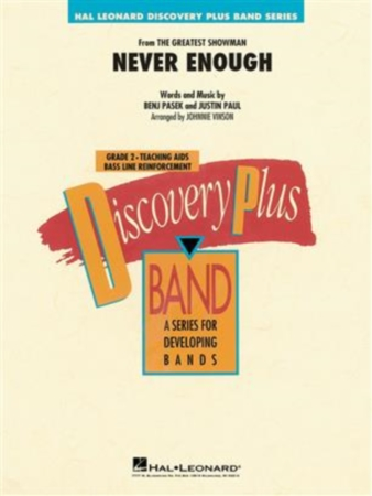 NEVER ENOUGH (score & parts)