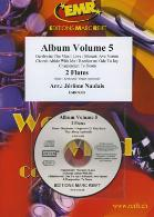 ALBUM FOR FLUTE DUET Volume 5 + CD
