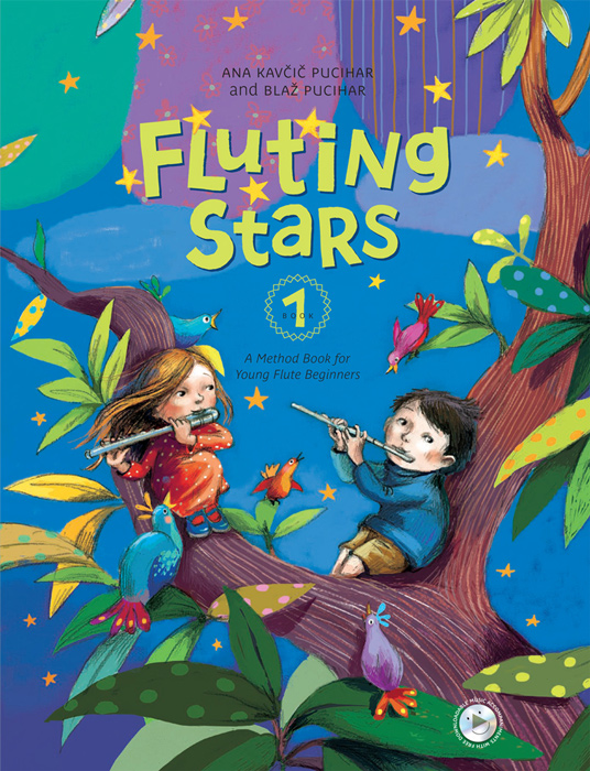 FLUTING STARS Book 1 + CD