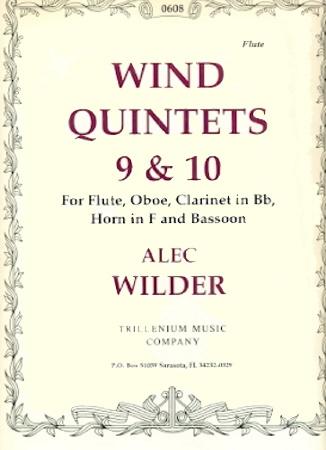 WIND QUINTETS Nos.9 & 10 set of parts
