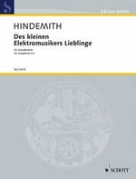 DES KLEINEN ELECTRONISCHES LIEBLINGE score & parts