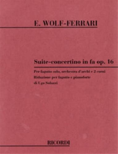 SUITE CONCERTINO in F major Op.16