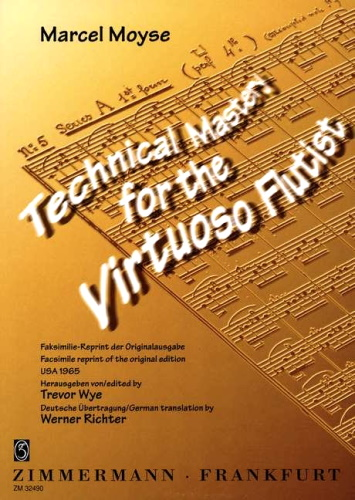 TECHNICAL MASTERY for the Virtuoso Flutist