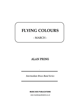 FLYING COLOURS (score & parts)