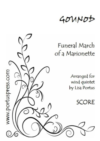 FUNERAL MARCH OF A MARIONETTE (score & parts)