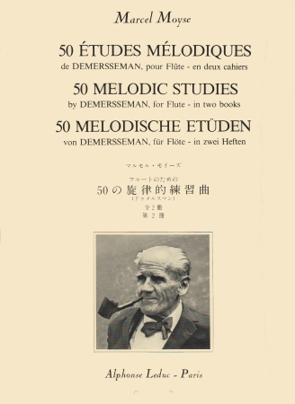 50 MELODIC STUDIES by Demerssemann Volume 2