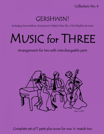 MUSIC FOR THREE Collection No.6 (score & parts)
