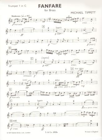 FANFARE No.1 (Trumpet 1)