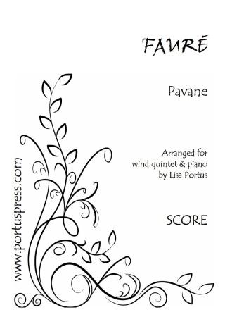 PAVANE (score & parts)