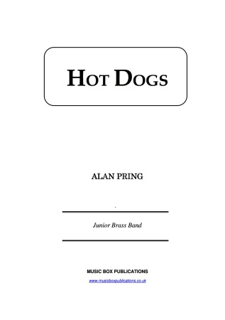 HOT DOGS (score & parts)