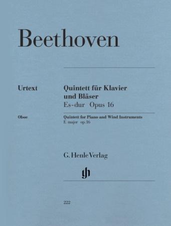 QUINTET in Eb major Op.16 (Urtext)