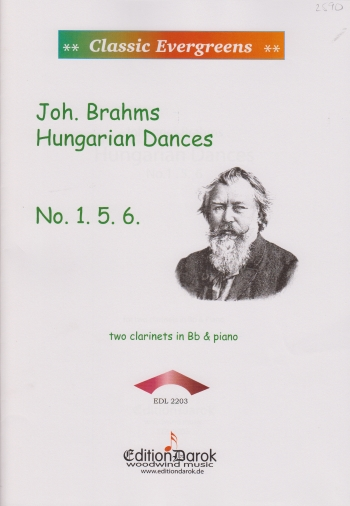 HUNGARIAN DANCES 1, 5 & 6
