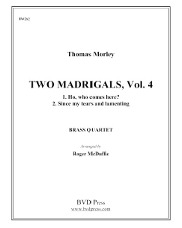2 MADRIGALS Volume 4