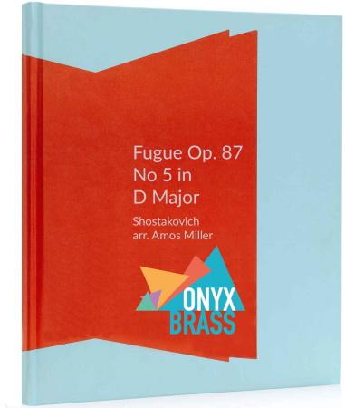 FUGUE in D major Op.87 No.5 (score & parts)