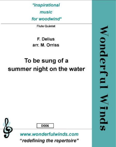 TO BE SUNG OF A SUMMER NIGHT ON THE WATER Part 2