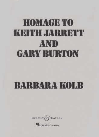 HOMAGE TO KEITH JARRETT & GARY BURTON
