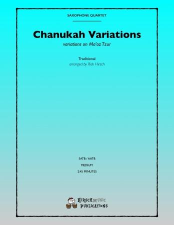 CHANUKAH VARIATIONS (score & parts)