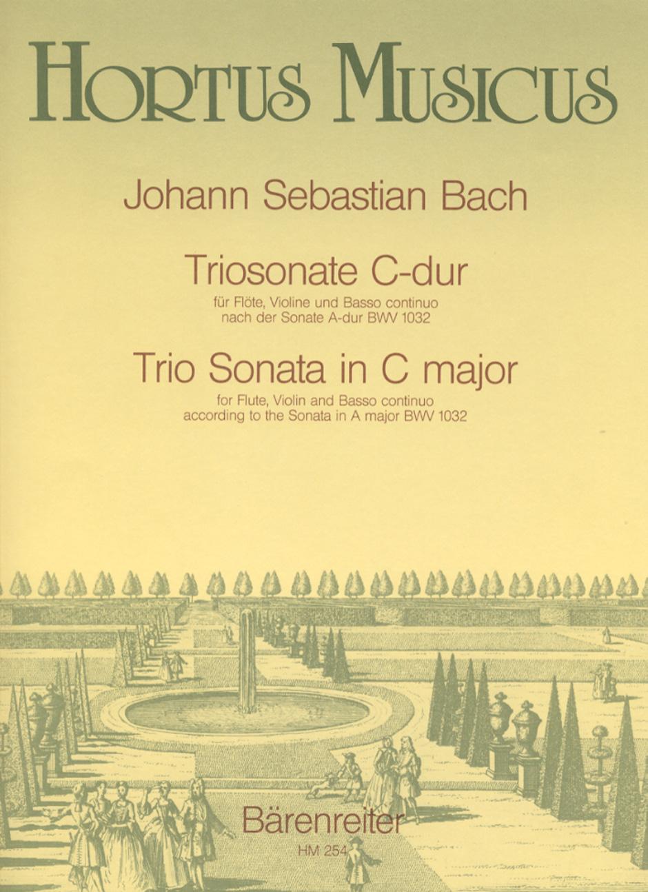 TRIO SONATA in C major BWV 1032