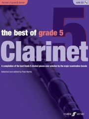 THE BEST OF GRADE 5 CLARINET + CD