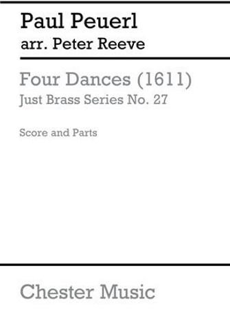 FOUR DANCES (1611)   (JB27)