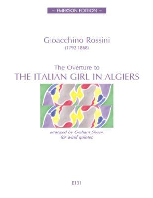 THE ITALIAN GIRL IN ALGIERS Overture (score & parts) - Digital Edition