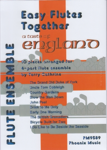 A TASTE OF ENGLAND (score & parts)