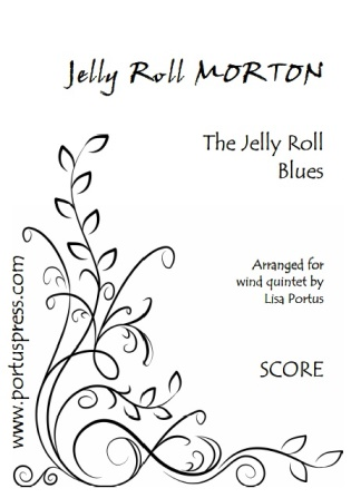 THE JELLY ROLL BLUES (score & parts)