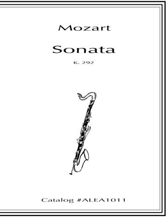 SONATA K.292