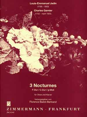 THREE NOCTURNES a minor, C and F