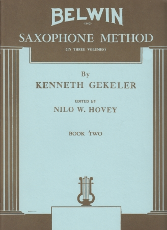 BELWIN SAXOPHONE METHOD Volume 2