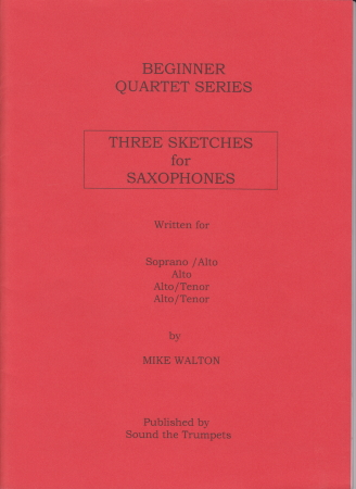 THREE SKETCHES FOR SAXOPHONES