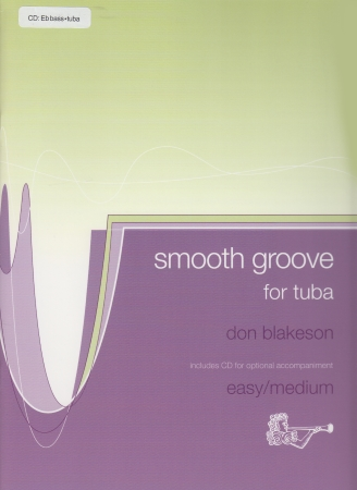SMOOTH GROOVE + CD (bass clef)