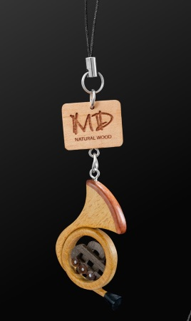 WOODEN STRAP French Horn (2D)