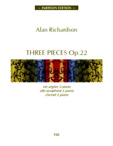 THREE PIECES Op.22